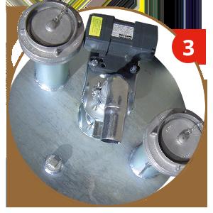 Sauglanze für NAU DIAMANT Batterietanks